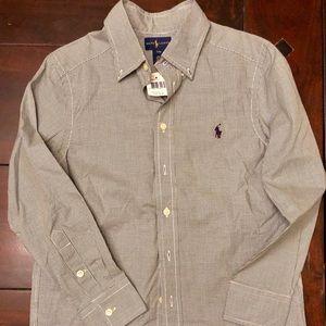 Ralph Lauren button down shirt for boys!